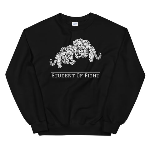 Fighting Tigers Pullover Schwarz