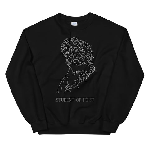 Fighting Lion - Pullover Schwarz