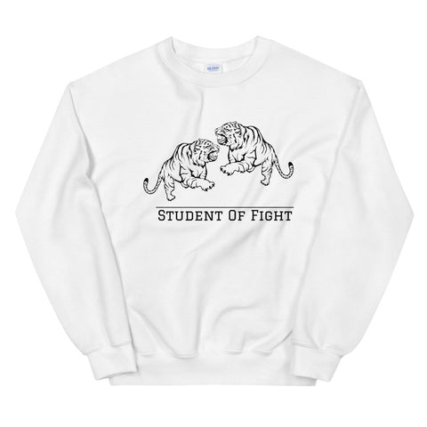 Fighting Tigers Pullover Weiß