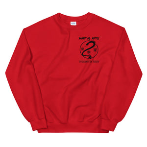 Martial Arts - Pullover Rot