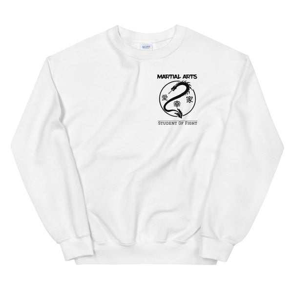 Martial Arts - Pullover Weiß