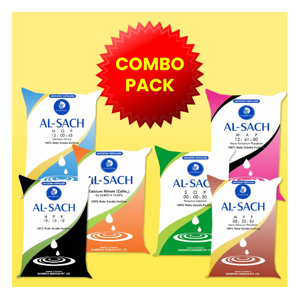 Buy Combo Pack of Water Soluble Fertilizers (6 Packets). Online - Agritell.com