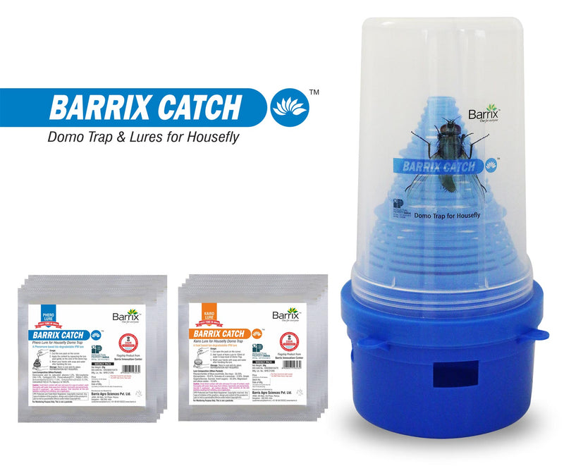 Buy BARRIX HOUSEFLY DOMO TRAP & LURES Online - Agritell.com