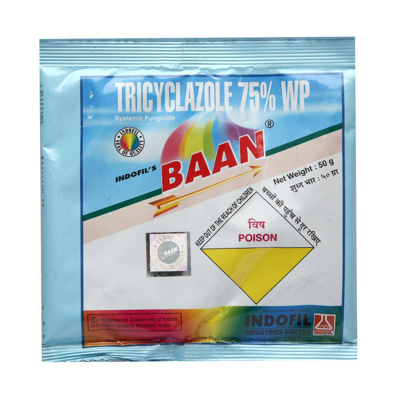 INDOFILS - BAAN (Tricyclazole 75 % WP) - agritell