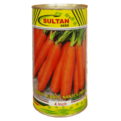 Buy CARROT EARLY NANTES (4 Inch) Online - Agritell.com