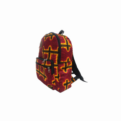 BACKPACKS, BACK TO SCHOOL BAGS, WAX PRINT