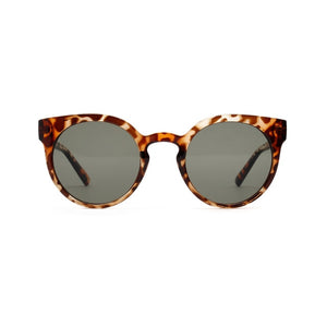 Round Over Sized Vintage Style Sunglasses