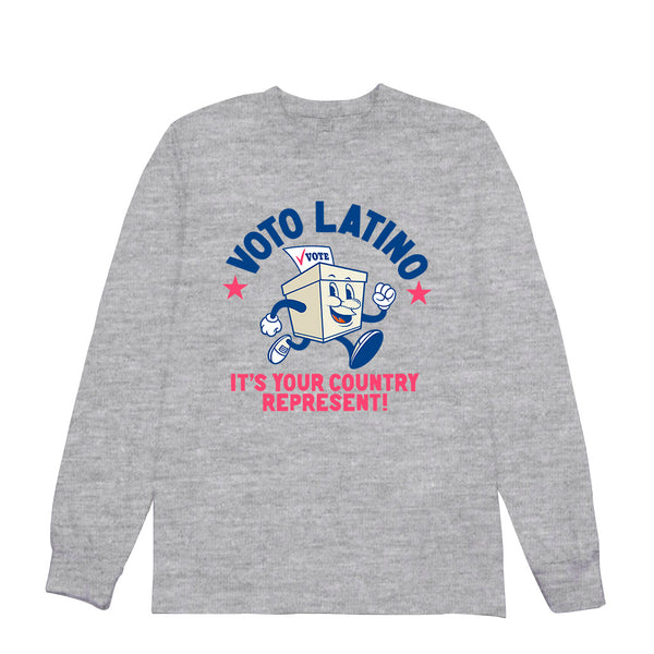 Voto Latino - Country Represent - Long Sleeve