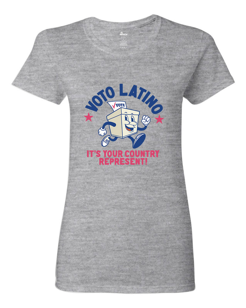 Voto Latino - Country Represent - Women's Fitted Tee