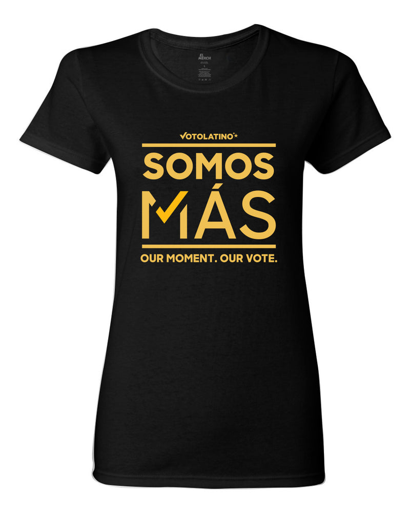 Voto Latino - Somos Mas - Women's Fitted Tee