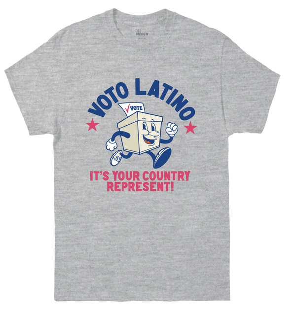 Voto Latino - Country Represent - Unisex Tee Short Sleeve
