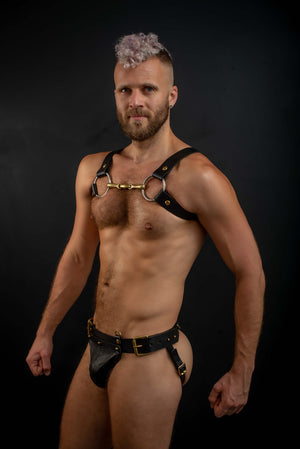 Load image into Gallery viewer, H Style | Leather Horsebit Harness