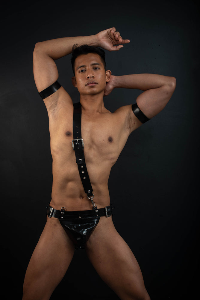 Load image into Gallery viewer, Gent | Rubber Jockstrap
