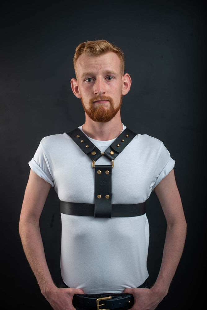Logan | Leather Harness