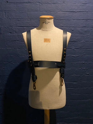 Load image into Gallery viewer, Sample Sale | Dolf | Leather | Small | Blue