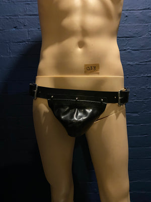 Load image into Gallery viewer, Sample Sale | Gent Jockstrap | Rubber | Medium | Black