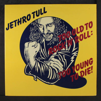 Jethro Tull - Too Old To Rock'N Roll Too Young To Die (Plak) 2.El