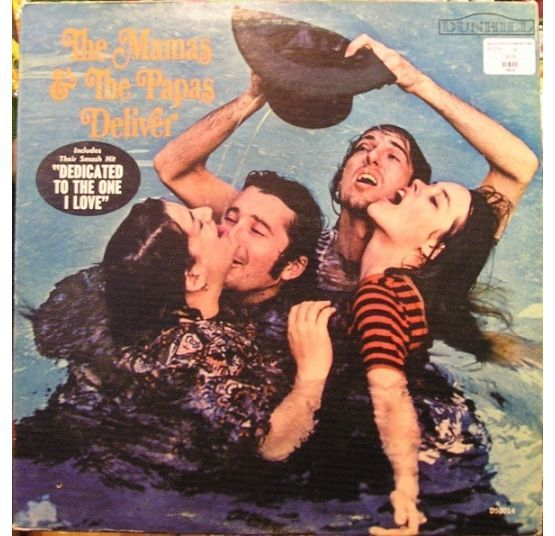 Mamas And The Papas- Deliver (Plak) 2.El