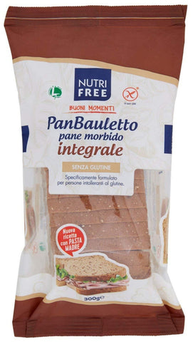 pan bauletto integrale nutrifree