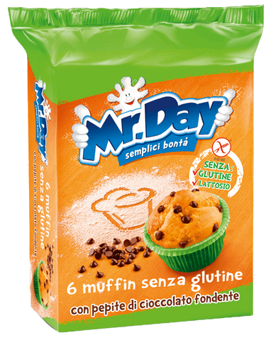 muffin mr dAy senza glutine