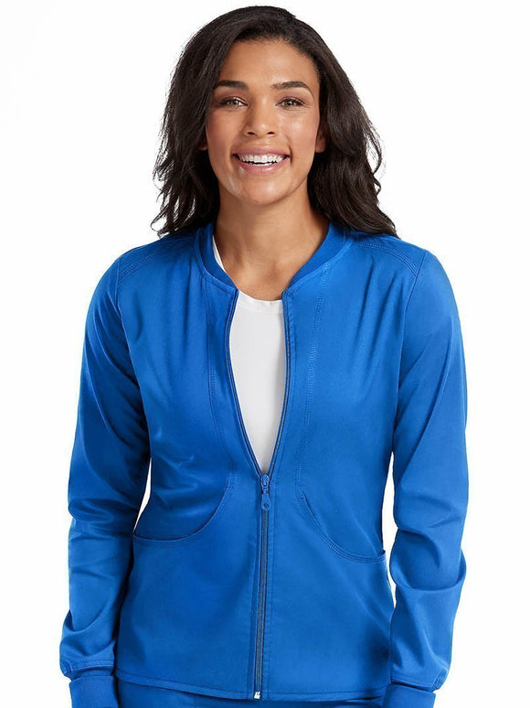 7663 - TOUCH - ZIP FRONT WARM UP