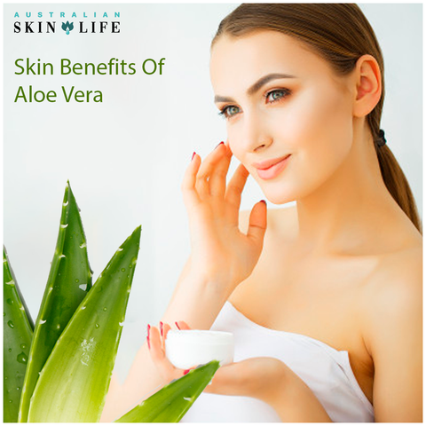 skin benefits of Aloe Vera