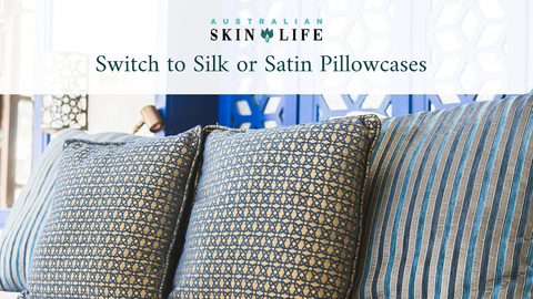 Switch to Silk or Satin Pillowcases