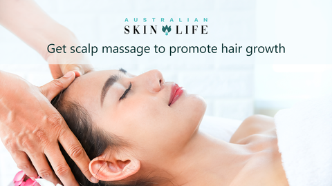 Get Scalp Massage to Promote Hair Growth