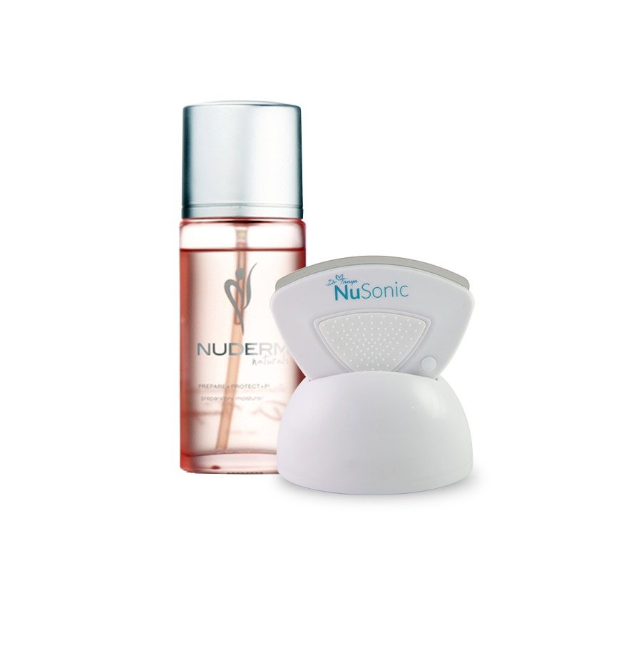 Holiday 2019 Special Pack: NuSonic Face and Body Exfoliator + NuDerm Mist - Australian Skin Life