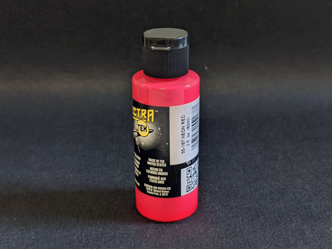 SpectraTex Neon Airbrush Paints | 167 Neon Red
