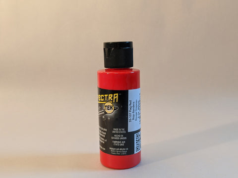 SpectraTex Transparent Airbrush Paint | 107 Flag Red