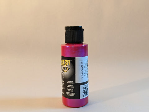SpectraTex Transparent Airbrush Paint | 109 Cranberry