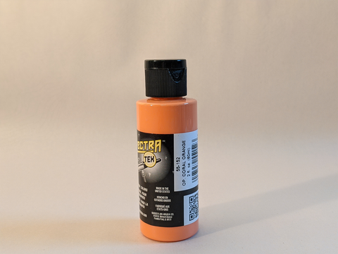 SpectraTex Airbrush Paint | 152 Opaque Coral Orange