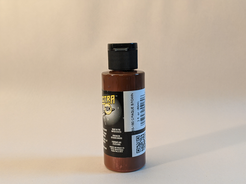 SpectraTex Airbrush Paint | 180 Opaque Brown