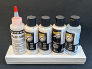 Badger SpectraTex Airbrush Paint Additives and Cleaner