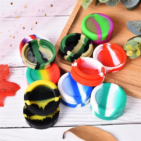 3ml Mini Silicone Container Wax Jars Dab bottle wax container