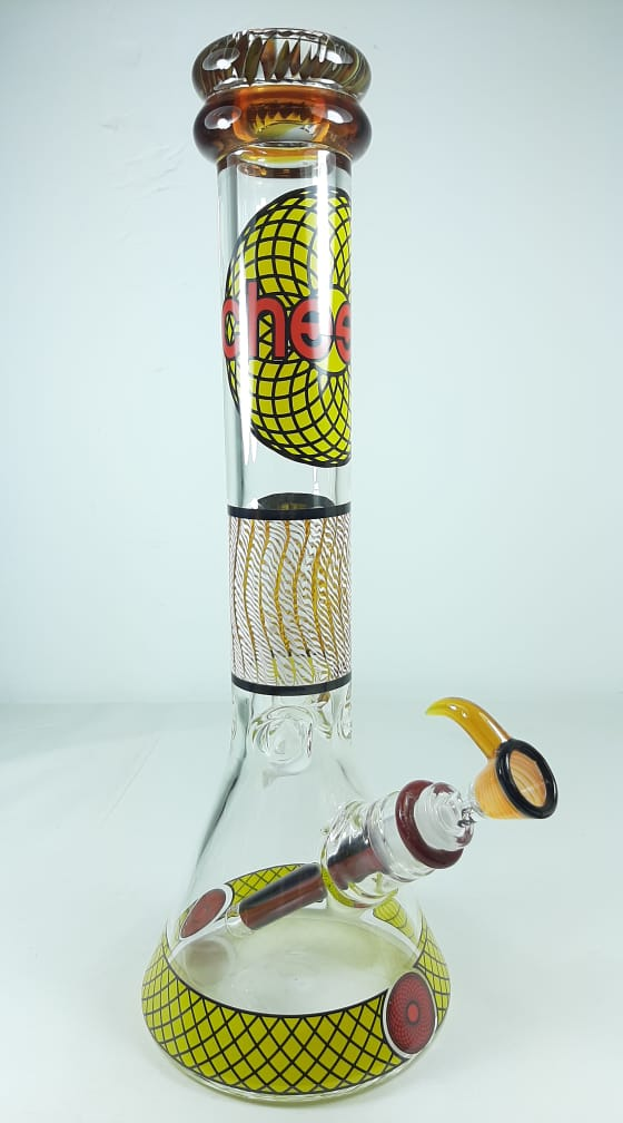 Cheech Bong Yellow and Red