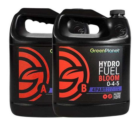 Green Planet Nutrients Hydro Fuel Bloom A & B 4-0-3 & 0-4-5 (10 Litres)
