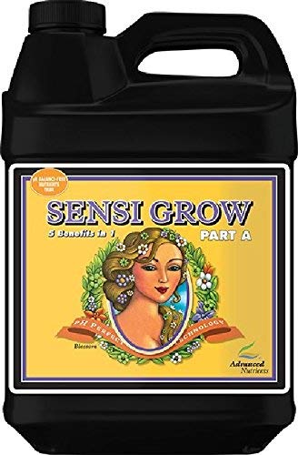 Advanced Nutrients pH Perfect Sensi Grow Part A&B Plant Nutrient, 10L