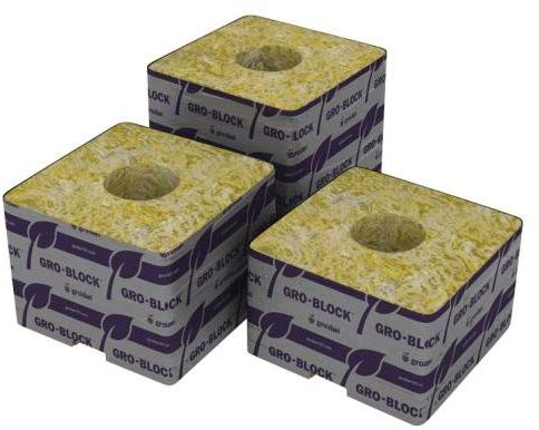 Grodan Rockwool 4 x 4 x 4 Box of 216