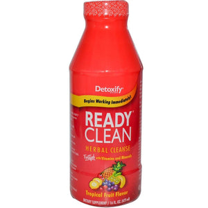 Detoxify Ready Clean Tropical Fruit Flavour (473ml)
