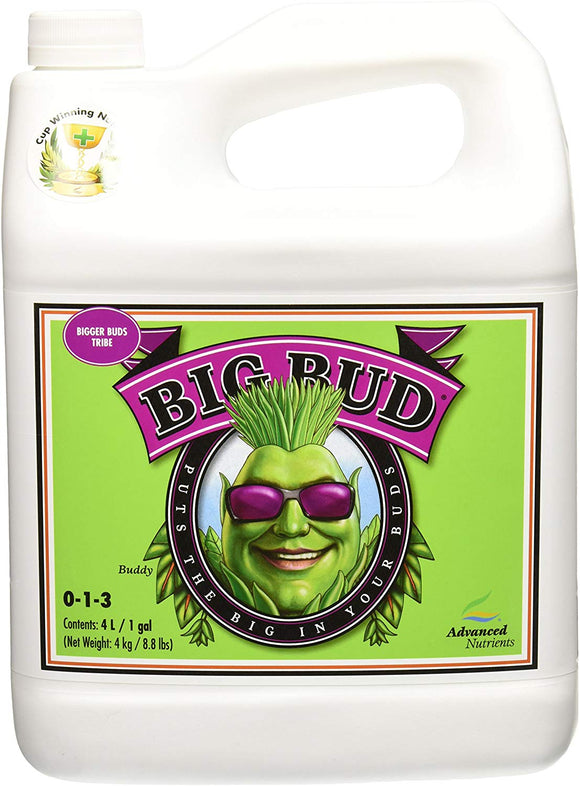 Advanced Nutrients Big Bud Liquid Fertilizer, 4L