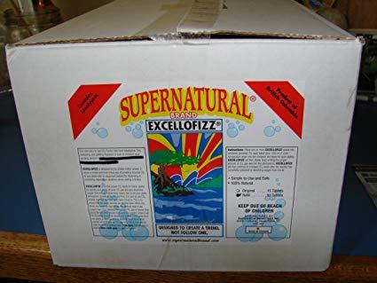 SuperNatural Excellofizz CO2 Pucks 50pk