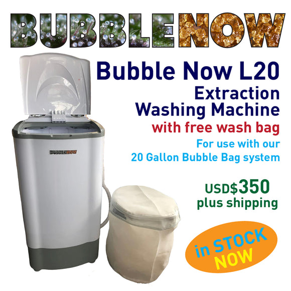 Bubble Now 20 Gallon Extraction Washing Machine
