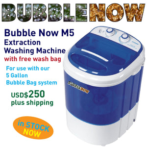 Bubble Now M5 | 5 Gallon Extraction Washing Machine