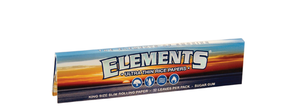 ELEMENTS Rolling Papers KING SIZE SLIM