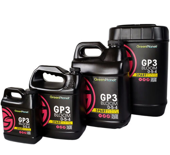 GreenPlanet Nutrients GP3 Bloom 0-5-4