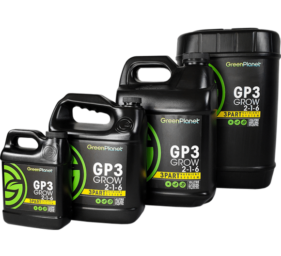 GreenPlanet Nutrients GP3 Grow 2-1-6