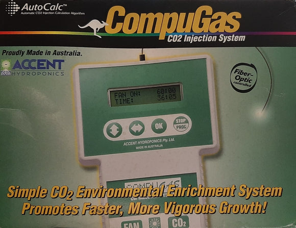 Co2 Injection System Accent Hydroponics CompuGas