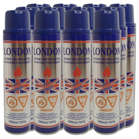 London Butane 300ml ( 1 dozen )